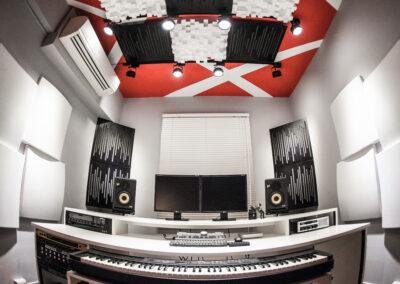 音箱頭錄音室
